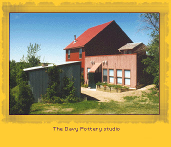 Photo of the Davy Pottery studio building